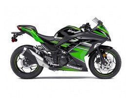 Kawasaki Ninja 300 ABS Kawasaki Racing Team Edition 2017