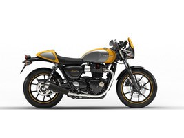 Triumph Street Cup Racing Yellow / Silver Ice 2018