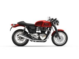 Triumph Thruxton 1200 Korosi Red 2018