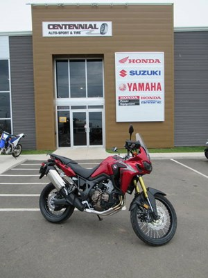Honda Africa Twin DCT Candy Red 2017
