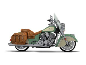 Indian Motorcycle® Chief® Vintage Willow Green Over Ivory C 2017