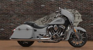 Indian Motorcycle® Chieftain® Limited Silver Smoke 2017
