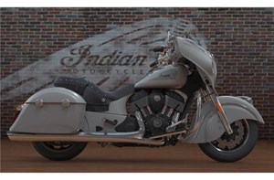 Indian Motorcycle® Chieftain® Silver Smoke 2017