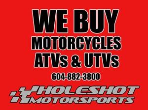 2018 Yamaha We Buy Used Motorcycles, ATVs & UTVs