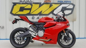 Ducati 899 Panigale Red 2015