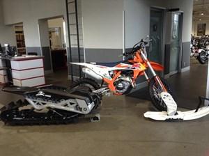 KTM 450 SX-F Factory Edition Snowbike 2018