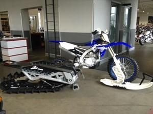 Yamaha YZ450FX Snowbike 2018