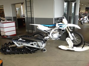 Yamaha YZ450F Snowbike 2018