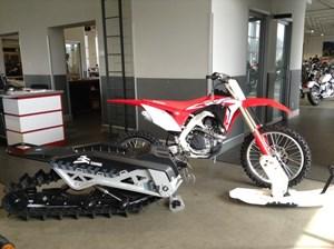 Honda CRF450RX Snowbike 2018