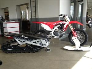 Honda CRF450R Snowbike 2019