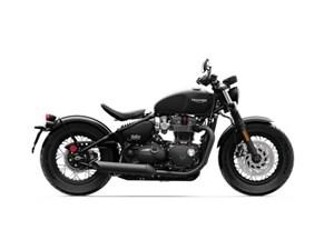 Triumph Bonneville Bobber Black Jet Black 2018