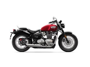 Triumph Bonneville Speedmaster Cranberry Red 2018