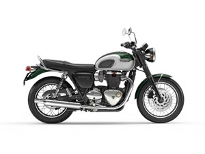 Triumph Bonneville T120 Competition Green 2018