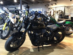 Triumph Bonneville Bobber Black Matt Jet Black 2018