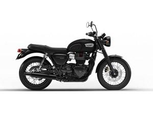 Triumph Bonneville T100 Black Matt 2018