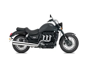 Triumph Rocket III Roadster Matt Phantom Black 2018