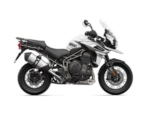 Triumph Tiger 1200 XCX Crystal White 2018