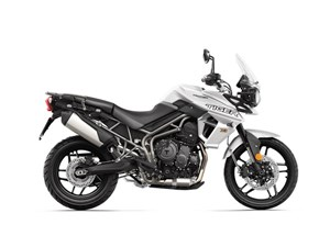 Triumph Tiger 800 XR Crystal White 2018
