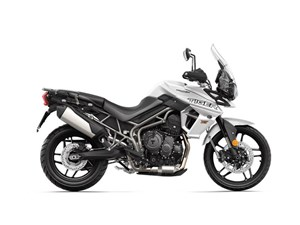 Triumph Tiger 800 XRX Low Crystal White 2018