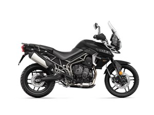 Triumph Tiger 800 XRX Low Matt Jet Black 2018