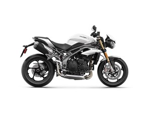 Triumph Speed Triple S Crystal White Metallic 2018