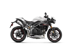 Triumph Speed Triple RS Crystal White 2018