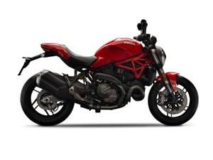 Ducati Monster 821 Ducati Red 2018