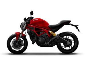 Ducati Monster 797 Ducati Red 2017