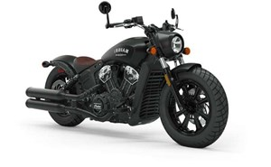 Indian SCOUT BOBBER ABS THUNDER BLACK SMOKE 2019