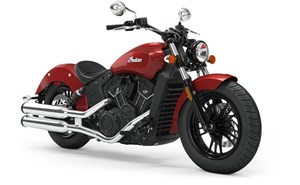 Indian SCOUT SIXTY ABS RUBY METALLIC / 36$/sem 2019