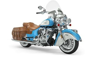 Indian CHIEF VINTAGE SKY BLUE PEARL WHITE 2019