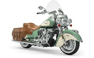 Indian CHIEF VINTAGE WILLOW GREEN IVORY CREAM 2019