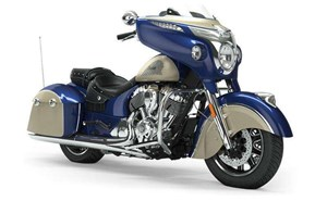 Indian CHIEFTAIN CLASSIC DEEP WATER METALLIC DIRT TRACK T 2019