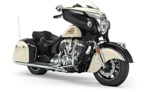 Indian CHIEFTAIN CLASSIC THUNDER BLACK IVORY CREAM 2019