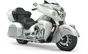 Indian ROADMASTER PEARL WHITE STAR SILVER 2019