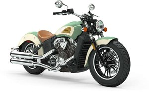 Indian SCOUT ABS WILLOW GREEN IVORY CREAM 2019