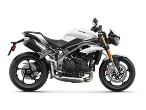 Triumph Speed Triple S Crystal White 2019