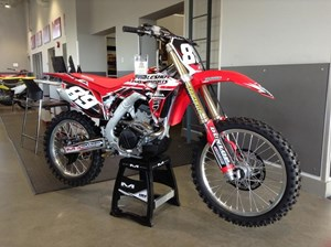 Honda CRF250R Lowered & Extras 2018