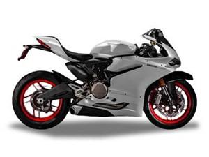Ducati 959 Panigale Arctic white silk 2017