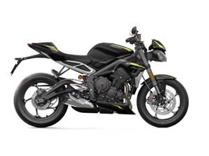 2020 Triumph Street Triple RS Matte Jet Black