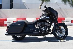 2021 Indian Motorcycle® Chieftain® Dark Horse® Thunder Black Smo