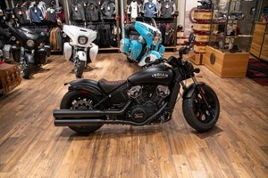 2021 Indian Motorcycle® Scout® Bobber ABS Thunder Black