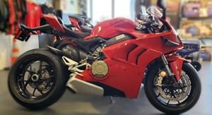 2021 Ducati Panigale V4 Ducati Red