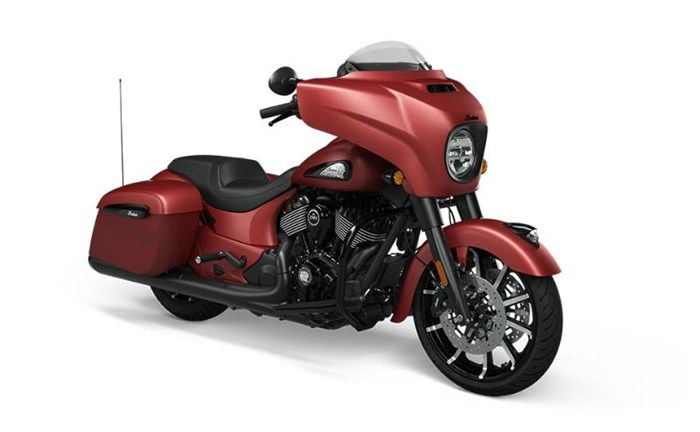 2021 INDIAN Chieftain Dark Horse Ruby Smoke (ABS) Photo 1 of 1