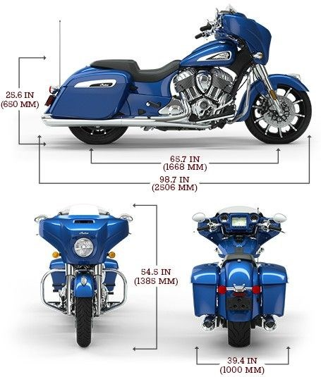 2020 INDIAN Chieftain Limited Photo 2 sur 8