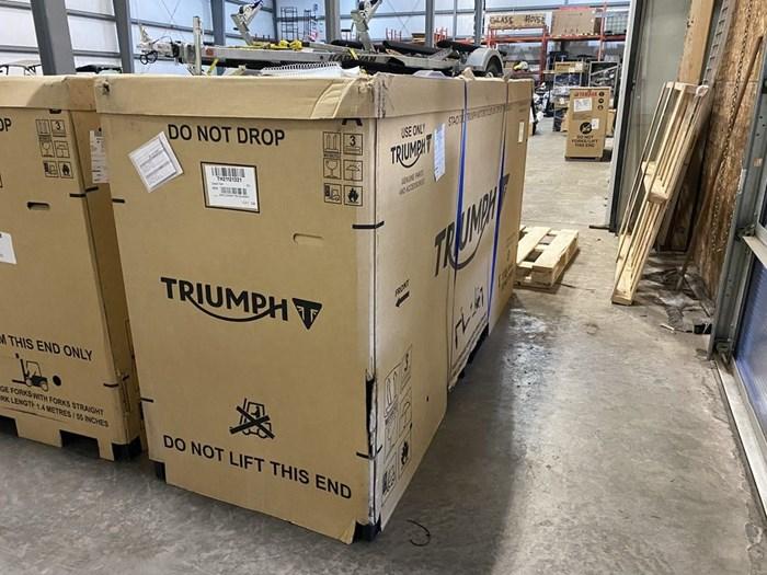 2022 Triumph Speed Twin Matt Storm Grey Photo 1 of 1