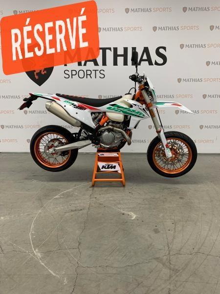 2021 KTM 500 EXC-F SIX DAYS MODIFIÉ SUPERMOTARD !! Photo 1 sur 8