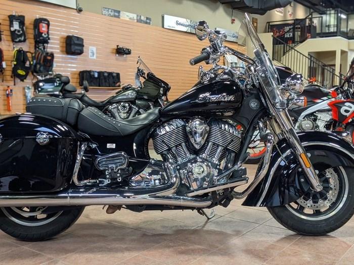 2017 Indian Motorcycle® Springfield™ Thunder Black Photo 1 of 13