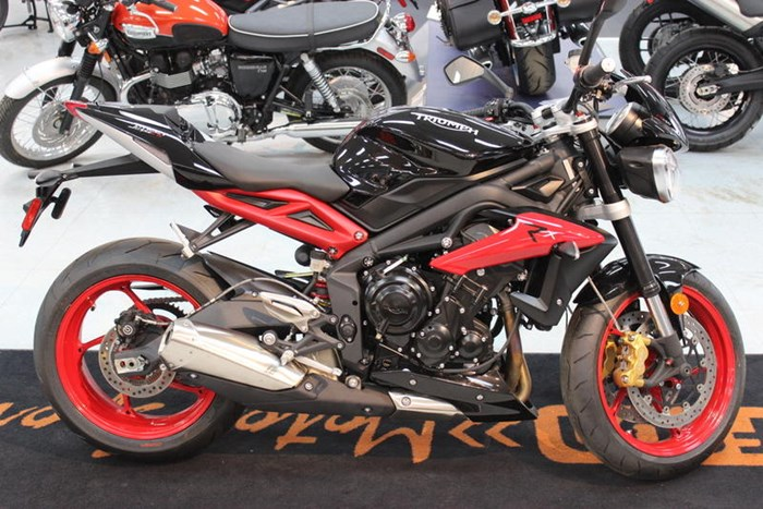 Triumph Street Triple Rx Abs 2016 New Motorcycle For Sale In