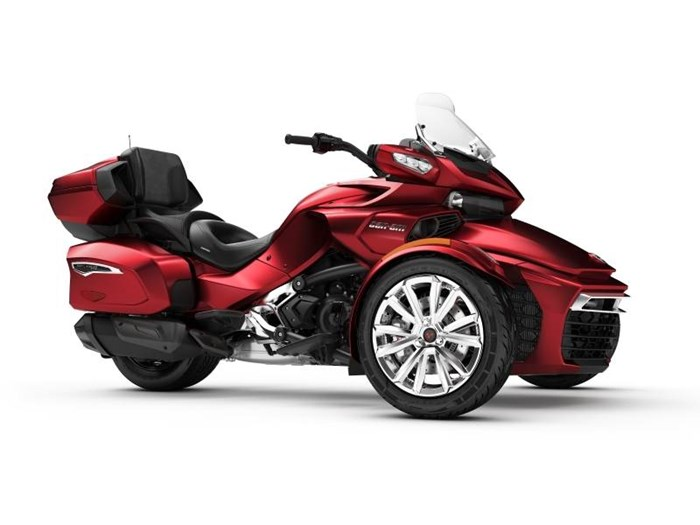 Spyder Motorcycle For Sale >> Can Am Spyder F3 Limited Chrome 2018 New Motorcycle For Sale In Powassan Ontario Motorcycledealers Ca